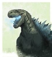 Godzilla by FlyQueen