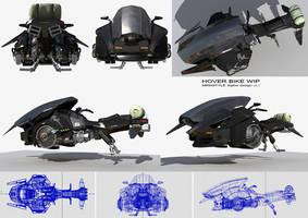 Hover Bike WIP by amiramz