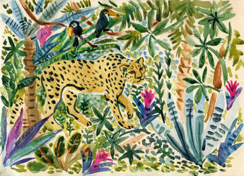 jaguar by solncaLych
