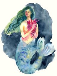 Mermaid by solncaLych