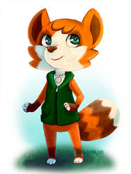 ACNL Selfie by Shadioux