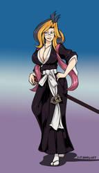[CM] Nanao Ise X Rangiku Fusion by SutibaruArt