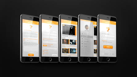 CreativeStation App Design - Photoshop by supermoustachephoto