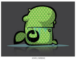 BORING by KIWIE-FAT-MONSTER