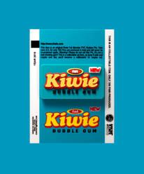Kiwie Bubble Gum Pin by KIWIE-FAT-MONSTER