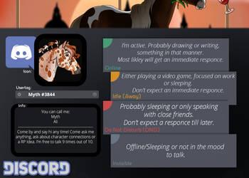 My Discord Info by NorthernMyth