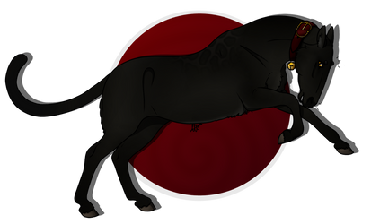 MYSTERY HALLOWEEN | Cat by NorthernMyth