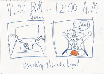 hourly comics hour 14 (END) by GalacticGinger
