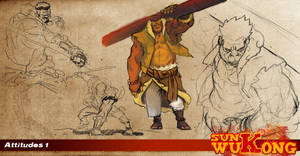 wukong's shoots by Ntocha