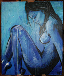 blue nude by schlachthof
