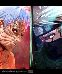 Naruto 686 - Obito and Kakashi by Ghazwi-Mohamed