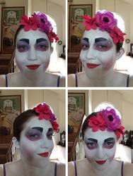 Green Eyed Geisha by ScorpioMonkey