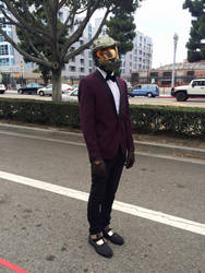 Dapper Master Chief by ScorpioMonkey