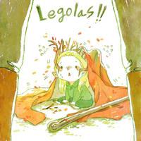 Mischievous Legolas!! by harmonia3784
