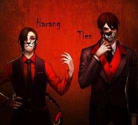 Tien Harang -Tokyo Ghoul AU by harmonia3784