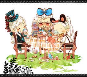 Deimus in Wonderland by harmonia3784