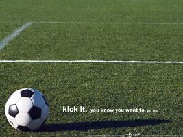 Kick it. by niraz