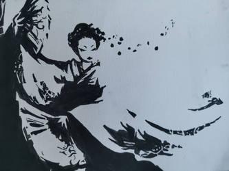 Geisha Print by CynicalisNature