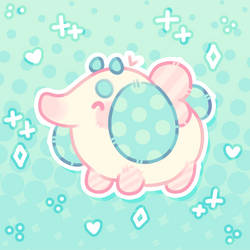 squishy little fantele (myo contest entry) by plushpon
