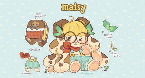strudel myo: maisy, old fashioned buttermilk pie! by plushpon