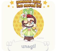 custom paint brush villager: Island Bunny! by plushpon