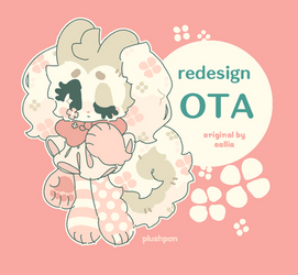 redesign OTA: CLOSED (original by eellie) by plushpon