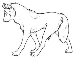 FREE To Use Wolf Lines by Kiboku
