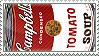 Andy Warhol Soup Stamp by Kiboku