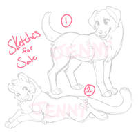Sketches for Sale - SOLD by Kiboku