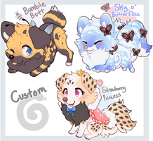 ShibeRoll Guest Artist Auction - ALL SOLD by Kiboku