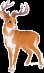 NSDTR Deer Adopt - CLOSED by Kiboku