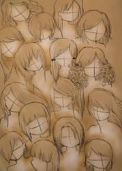 anime or manga hair styles by VillainAurora