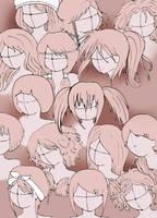 anime or manga hair styles 3 by VillainAurora