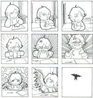I grow Wings by setsu