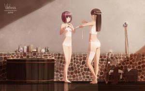 I Like to Watch You Undress by LittleViktoria