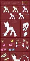 Corrupt Reaponies Ref Sheet by RavenFox19