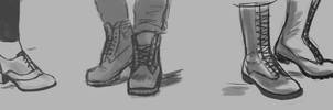 3 - Shoes [16 Days Challenge] by S-E-Sagas