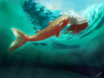 9 - Underwater [16 Days Challenge] by S-E-Sagas