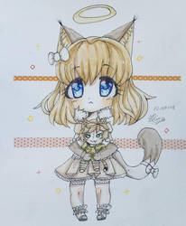 chibi Lucy  by zvezdalina29
