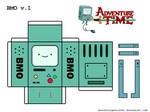 BMO Papercraft v.1 by AbsolutelyNoTalent