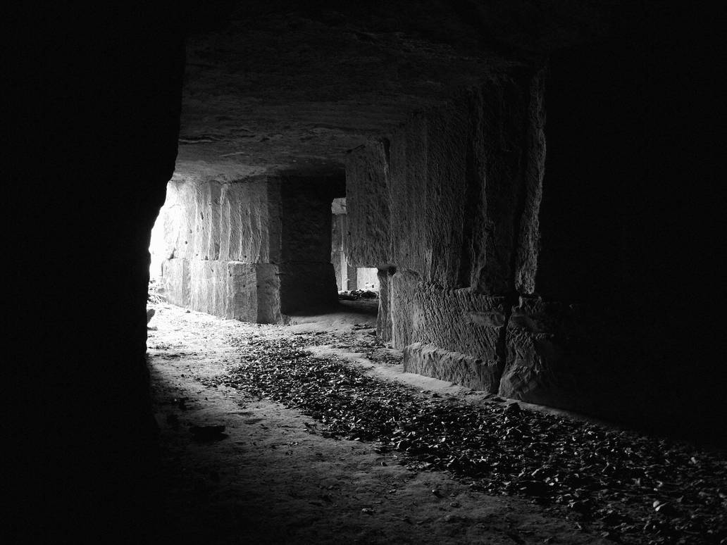 cave:lights (one) by WickedWormwood