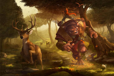The Hunt by GorosArt