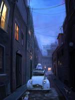 Street Cats by GorosArt