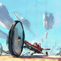 Three Wheels by GorosArt