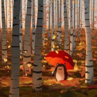 Fall Leaves by GorosArt