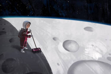 Half Moon by GorosArt