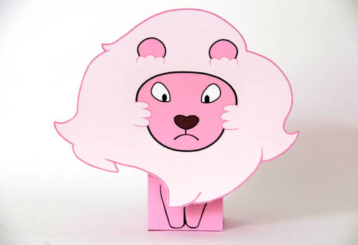Steven Universe Lion Cubeecraft by scarykurt