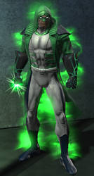 Green Lantern New 52 Renegade (DC Universe Online) by VexylGraphics