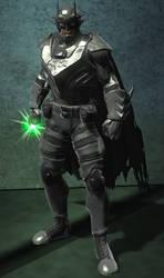 Future Batman (DC Universe Online) by VexylGraphics