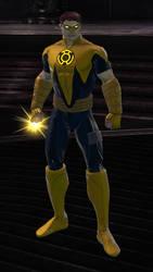 Sinestro Corps Hal Jordan (DC Universe Online) by VexylGraphics